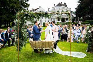 foto huwelijksceremonie