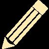 Pencil Detailed Icon_ffecb3